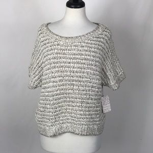 NWT Free People Loose Knit Slouch Sweater Large L